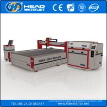 CE certificate 2000mm*3000mm CNC high pressure abrasive water jet glass cutting machine