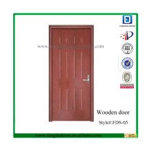 Portes intérieures en bois solides bon marché