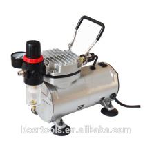 Compressor de ar de 1 / 6HP mini com o compressor de ar portátil do filtro