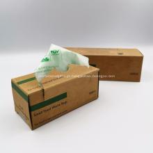 Sacos promocionais compostáveis com amido de milho 100% biodegradável