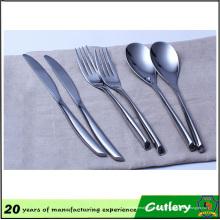 Juego de cubiertos de utensilios de cocina de restaurante de acero inoxidable