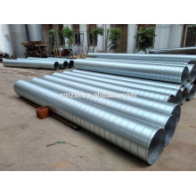 air galvanized spiral duct for ductwork