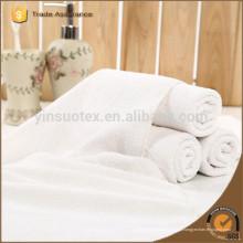100% algodão branco hotel toalha de banho conjunto 3pcs / lot toalha de banho toalha de rosto 75x140cm