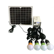Draagbare dc12v verlichting kits met zonne-energie