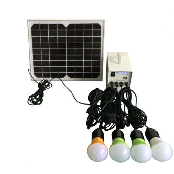 10W Mini portable solar led Beleuchtungs-Systeme