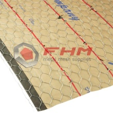 "Red de estuco hexagonal galvanizada 36 ""x 150 '"