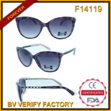 F14119 Оптовая солнцезащитные очки в Китае