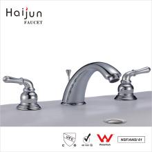 Haijun Super September Low Price Upc Pull Down Deck Mounted Washing Bathroom Basin Faucet Tap