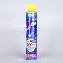 Spray de neige en mousse pour la décoration de fête de Noël