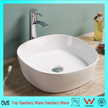 Популярный рынок Austalia Market Ceramic Wash Bowl Ванная комната Silm Thin Edge Countertop Basin