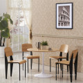 Цена завода имени Жана прува Стандартный деревянный стул ресторана (СП-BC336)