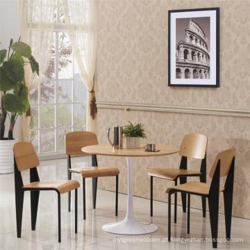 Preço de fábrica Jean Prouve Saco de restaurante de madeira padrão (SP-BC336)