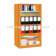 Modern MDF Bookcase Seis camadas para casa ou escritório