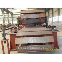 Linha de produção do painel de sanduíche do empilhador automático lã Mineral