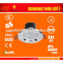 Haute puissance 12v 7W s/n LED downlights