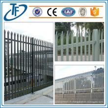 Clôture de palisade standard de qualité supérieure utilisée pour la vente faite à Anping