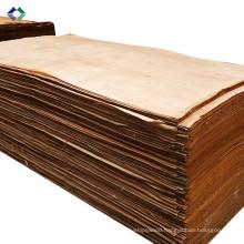 Top Sale 0.3mm okoume plywood face veneer