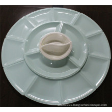 Colored Imitation Ceramic Melamine Tableware Set (CP-047)