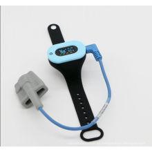 Dispositivo de monitorización portátil con oxímetro de pulso