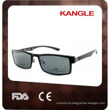 2017 new style clip on optical frames, comfortable TR90 material clip on sunglasses
