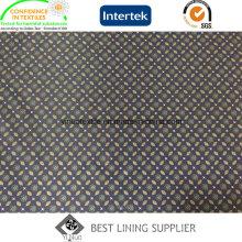 Полиэстер мужской костюм куртка Подкладка Подкладка Подкладка ткань Китай Фабрика