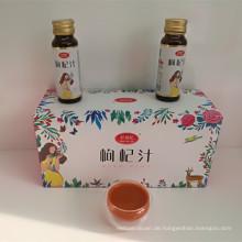 Goji-Beeren trinken Obst für die Passform