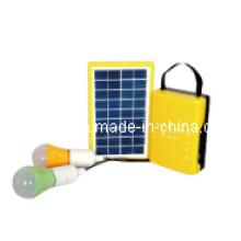 Sistema de iluminación solar portátil de 3 vatios para uso doméstico (ODA3-4.5Q)