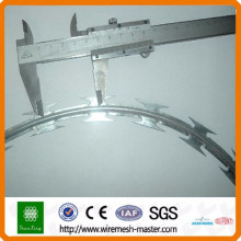 [10 years quality guarantee] Anping low price Factory concertina razor barbed wire