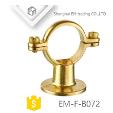 EM-F-B072 Saddle Brass wire hanging pipe clamp