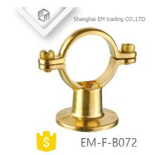 EM-F-B072 Selle en laiton avec collier de serrage