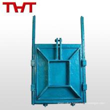 Cast iron wall penstock valve