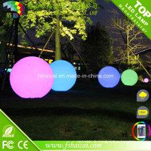 Frost Oberfläche Wasserdichte LED Ball für Garten, Pool
