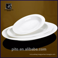 PT-1357 ceramic deep oval dish plate