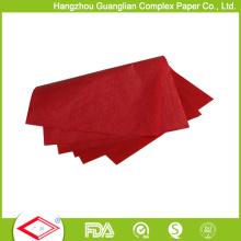 Papel de Glassine coloreado 40g para la fabricación de la taza de la hornada del embalaje de la comida