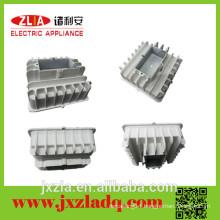 Square aluminum enclosure heat sink, cob led light heat sink