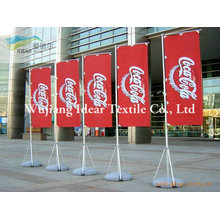 100% poliéster publicidad banderas/poliéster impresa Banners