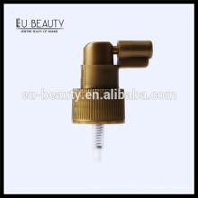 24/410 Pearl gold plastic oral tube sprayer