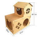 irresistible cardboard houses for cats