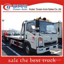 SINOTRUK HOWO EURO4 rotator wrecker truck 4x2 heavy duty wrecker towing truck for sale