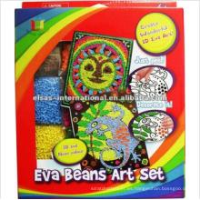 diy hecho a mano Kids Craft Kits, creat creativo 3d eva art