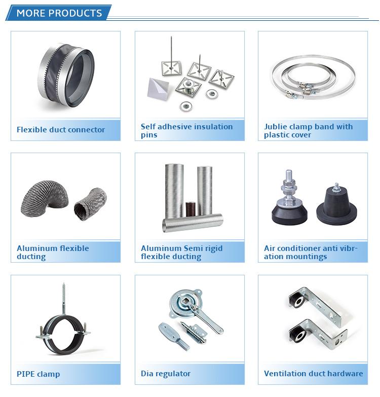 OEM / ODM Hochwertige Standard-Schnellverzinkte Edelstahl-Rohrschelle