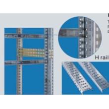 Rail H pour plaque avant vierge