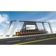 современные укрытия велосипед