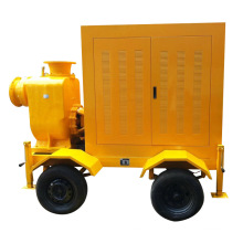 Trolly Diesel Water Pump Dewatering Pump