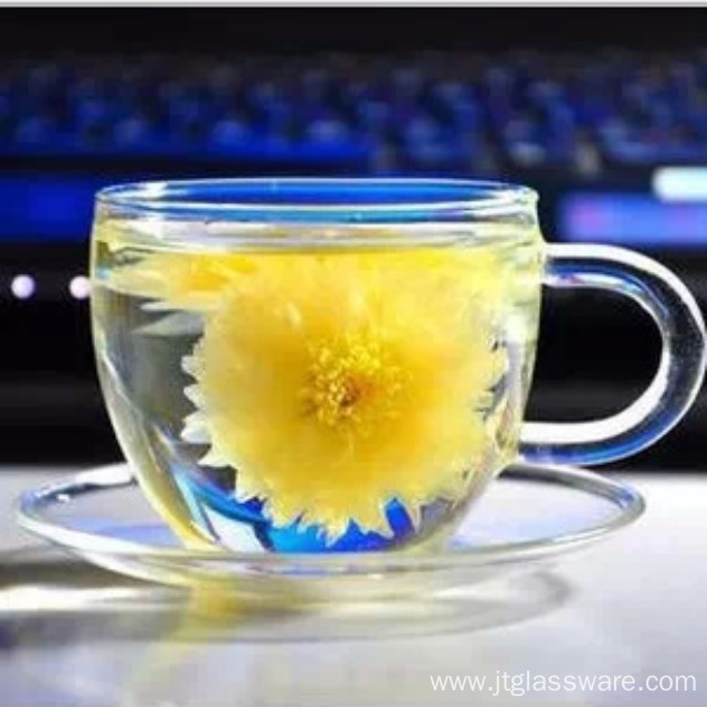 Beautiful Single Wall Glass Coffee Cups