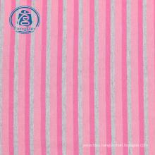 100% cotton yarn dyed stripe knitting fabric cotton