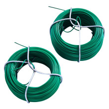 Corrosion Resistance Green PVC Coated Wire Galvanized Iron Wire