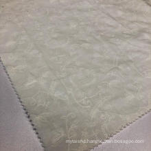 White Embroidery Fabric