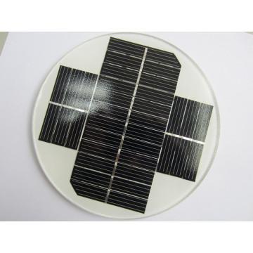 Panel solar redondo de tamaño pequeño para batería (SGR-5W)