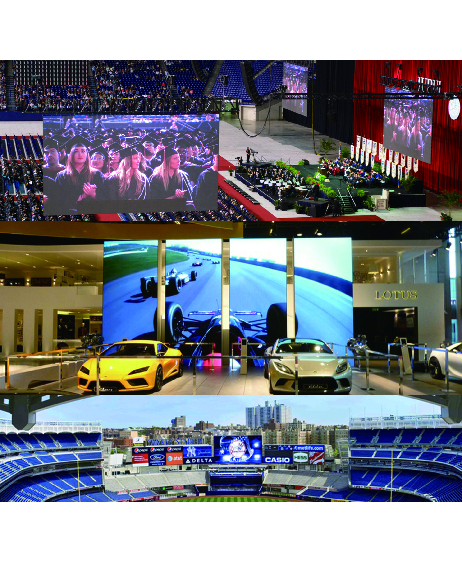 indoor led screen rental